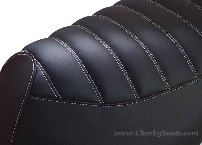 Genuine Roughhouse Padded Seat Cover Matte Black Waterproof